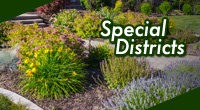 Special Districts information, find out if your in a special didstrict and the services they provide